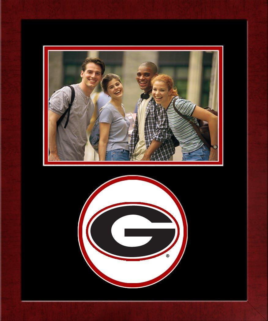 At Award-winning store the price of surprise Campus Images NCAA Georgia Bulldogs University Photo Spirit Fram