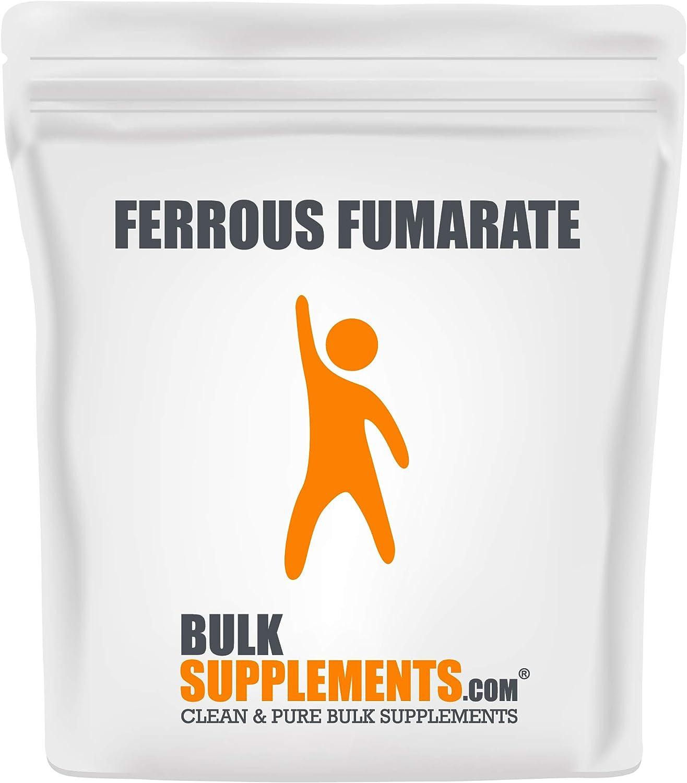 Bargain BulkSupplements.com Ferrous Fumarate Powder Iron - Max 70% OFF Supplement