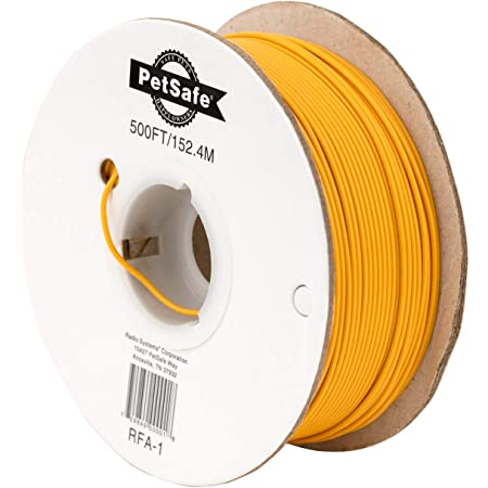PetSafe Boundary Wire for Electric Dog and Cat Containment Fences - Durable 16 Gauge and 20 Gauge Options - Available in 500 FT & 150 FT from the Parent Company of the INVISIBLE FENCE Brand
