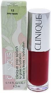 Clinique Pop Splash Lip Gloss, 13 Juicy Apple, 0.14 Ounce