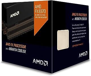 AMD FD8370FRHKHBX 4 GHz FX-8370 Octa-Core Desktop Processor with Wraith Cooler, Black Edition