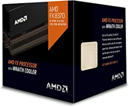 Best AMD FD8370FRHKHBX 4 GHz FX-8370 Octa-Core Desktop Processor with Wraith Cooler, Black Edition Review