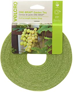 VELCRO Brand 90648 ONE-WRAP Supports for Effective Growing | Strong Gardening Grips are Reusable and Adjustable | Gentle P...