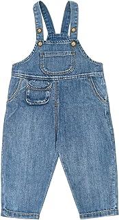 Milkiwai Bambino Piccolo Ragazzi Casuale Denim Bib Pantaloni Retro Un Pezzo Tuta da Lavoro