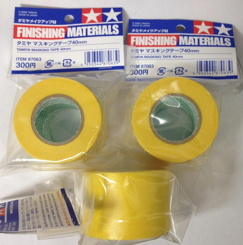 TAMIYA 40mm Masking Tape [87063] 3pcs Set