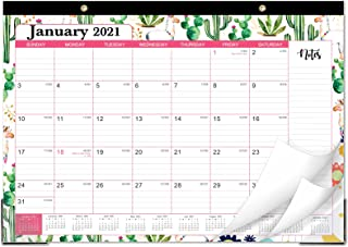 """2021 Desk Calendar - Monthly Desk/Wall Calendar 2021, 17"""" x 12"""", Large Monthly Desk Calendar, Jan 2021 - Dec 2021, Ruled B..."""