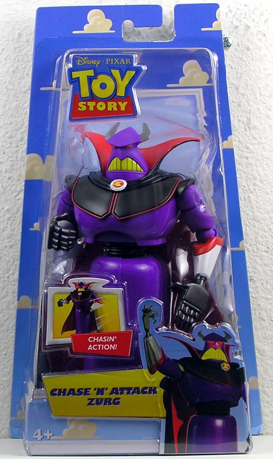 Toy Story Disney Pixar Chase Popular product Zurg Action 'N' Figure Attack Fresno Mall