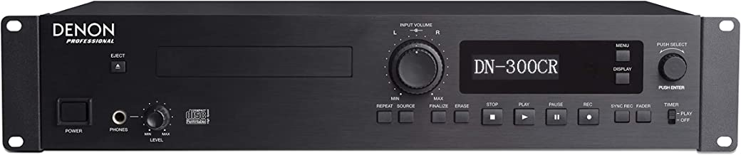 Denon Professional DN-300CR | Rackmount Professional CD recorder / Player with Rugged Tray Transport