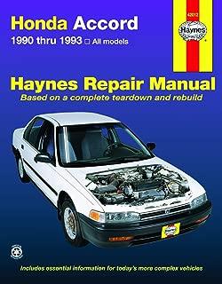 Best 1993 honda accord service manual Reviews