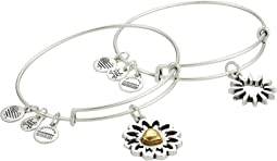 You Are My Heart Two-Tone Bracelet Set of 2