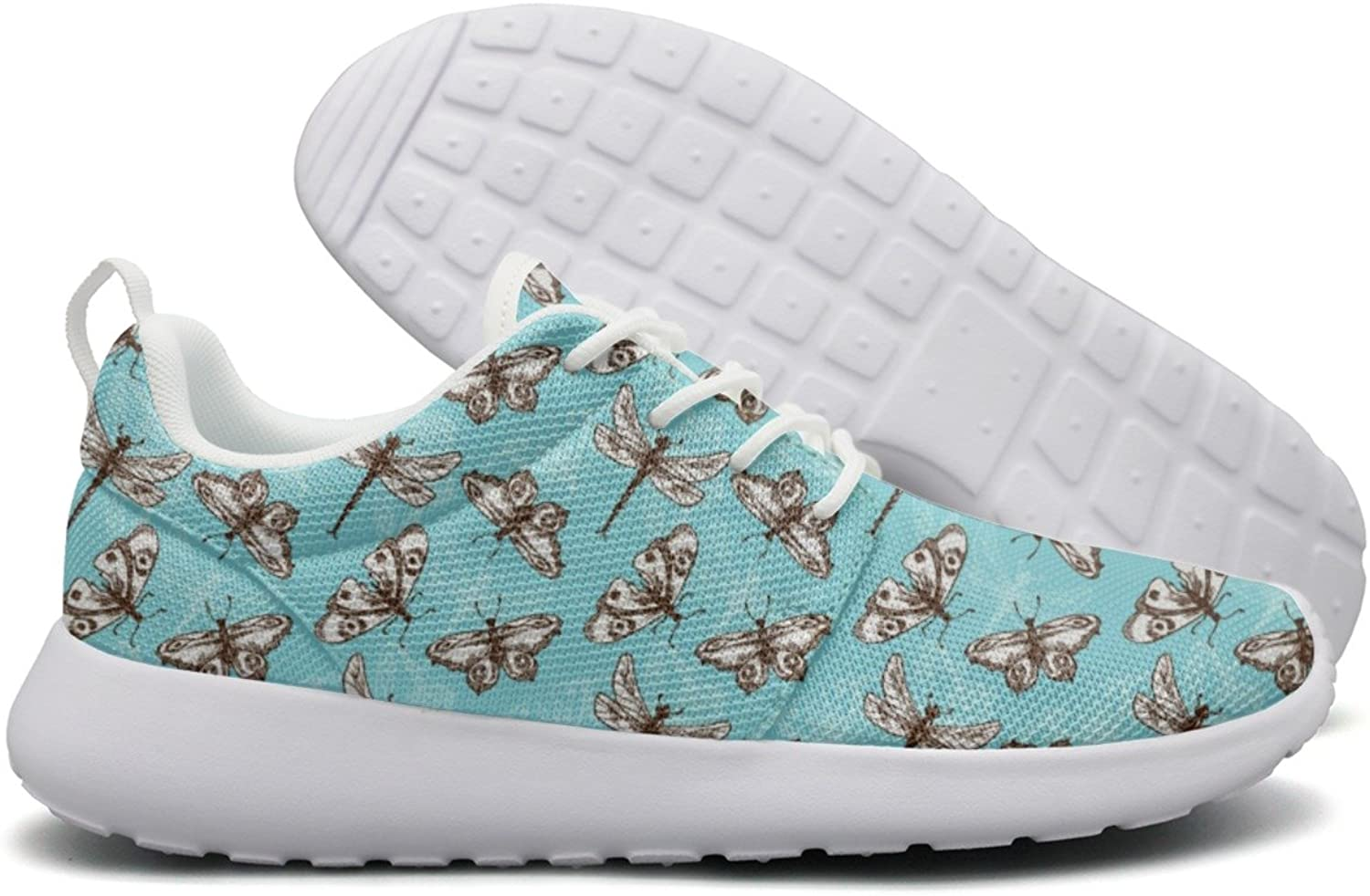 Butterflies And Dragonflies Insects Women's Neutral Running shoes Unique Active