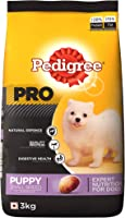 Pedigree PRO Expert Nutrition Small Breed Puppy (2-9 Months) Dry Dog Food, 3kg Pack