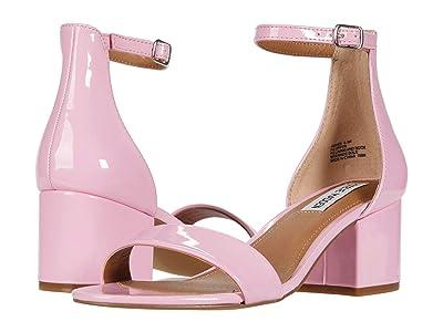 Steve Madden Irenee Sandal (Pink Patent) Women