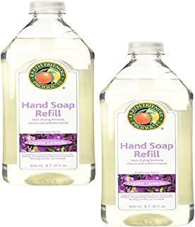 Earth Friendly Products Hand Soap Refill, Lavender, 32 Ounce (2-Pack)