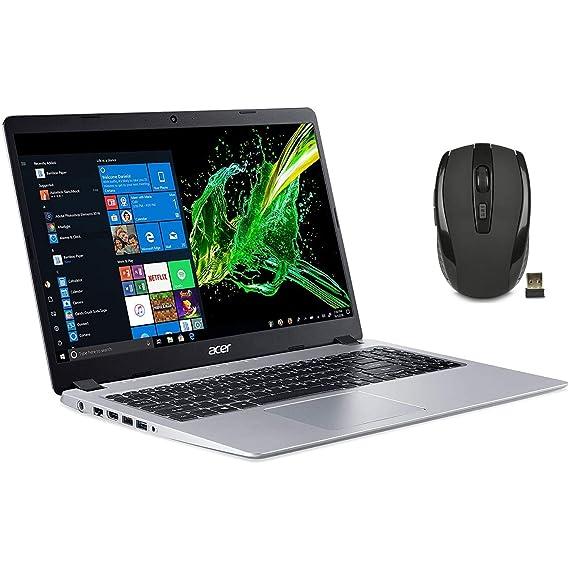 2020 Newest Acer Aspire 5 Slim Laptop 15.6 FHD IPS Display, AMD Ryzen 3 3200u-Dual Core (up to 3.5GHz), Vega 3 Graphics, 8GB RAM DDR4, 256GB PCIe NVMe SSD, Windows 10 HDMI, w/Ghost Manta Accessories