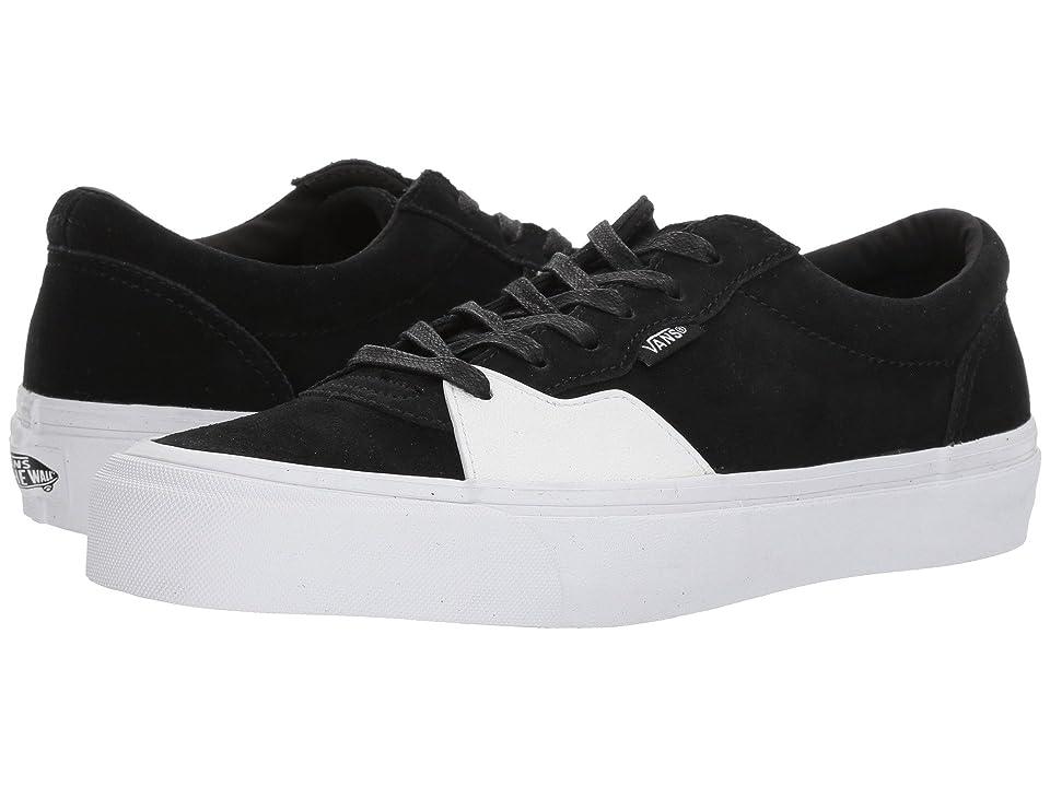Vans Style 205 ((Dipped) Black/True White) Skate Shoes
