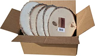 Basswood Plaque (Round/Oval) Bulk Quantity Value Box (Large (9-12 inch Diameter) Pack of 10)