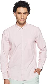 Ruggers Men's Solid Regular fit Casual Shirt