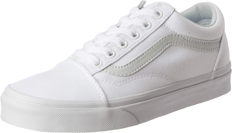 Vans Unisex Old Skool True White Sneaker - 4