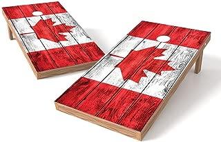 PROLINE 2'x4' Country Flags Cornhole Set - Vintage Design