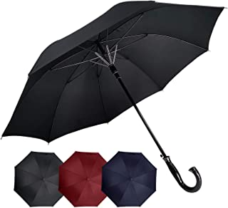 Automatic Open Close Windproof Tested for Hurricane//Snowstorm Airka Travel Umbrella