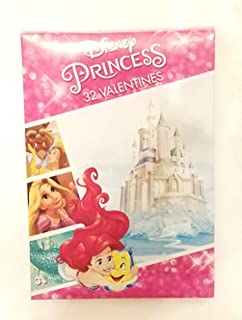 NEW Prncess Images 32 Count Valentines
