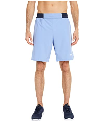 Nike NikeCourt Flex Ace Shorts 9 (Royal Pulse/White) Men