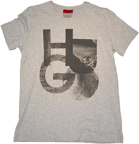HUGO - T-Shirt - Homme gris gris Taille Unique