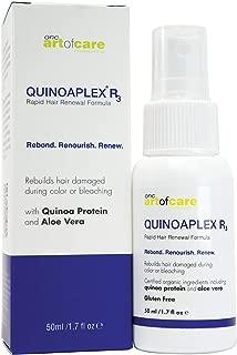 QUINOAPLEX Rapid Hair Renewal Formula 1.7 fl. oz. 50 millilitre, Organic Based Bond Builder and Protein Conditioner with Quinoa Protein,Aloe Vera, and Certified Organic Ingredients