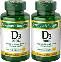 vitamin d3 2000 iu softgels
