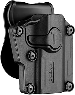 Polymer Universal OWB Holster for Berreta APX / CZ 75 / Ruger Security9 – Compact..