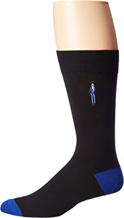 Embroidered People Socks