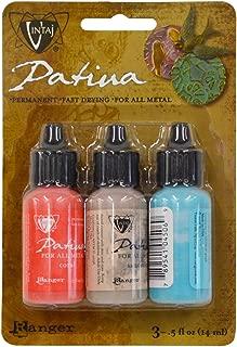 Vintaj Ranger Patina Inks French Riviera Coral Sandstone & Turquoise Jewelry Making Kit