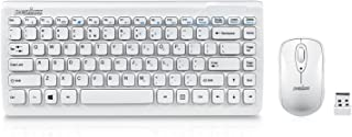 Perixx Periduo-707W Wireless Mini Keyboard and Mouse Set, Pi