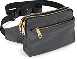 Fanny Packs for Women & Men, Waist Bag Fanny Pack for Girls Boys Teens with Multi-Pockets, Casual Hip Bum Bags Belt Bag fo...