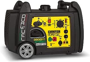 Champion 3500 Watt Dual Fuel Inverter Portable Generator