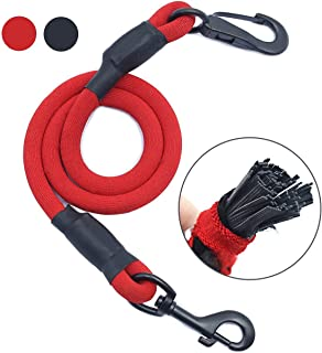 AMZNOVA Dog Seat Belt, Explosion-Proof Rushed Dog Car Harness Restraint Pet Safety Latch Seatbelt Durable for Cat Puppy Small Large Dogs Travel Carring