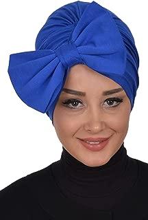 Instant Turban Cotton Scarf Head Wrap Chemo Headwear Cancer Hat Bowtie