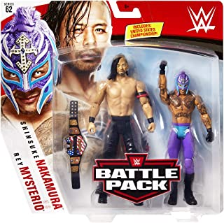 Ringside Rey Mysterio & Shinsuke Nakamura - WWE Battle Packs 62 Mattel Toy Wrestling Action Figure 2-Pack