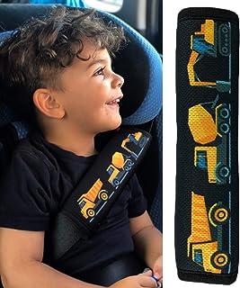 ceintures de s/écurit/é /épauli/ère protection ceinture si/èges auto coussin de ceinture pour enfants gar/&cced HECKBO/® 1x protection pour ceinture de s/écurit/é avec un motif d/'animaux de la for/êt