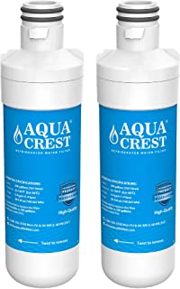 AQUACREST ADQ747935 Refrigerator Water Filter, Replacement for LG LT1000P, LT1000PC, LT1000PCS, MDJ64844601, ADQ74793501, ADQ74793502, Kenmore 46-9980, 9980, 2 Filters, Package may vary