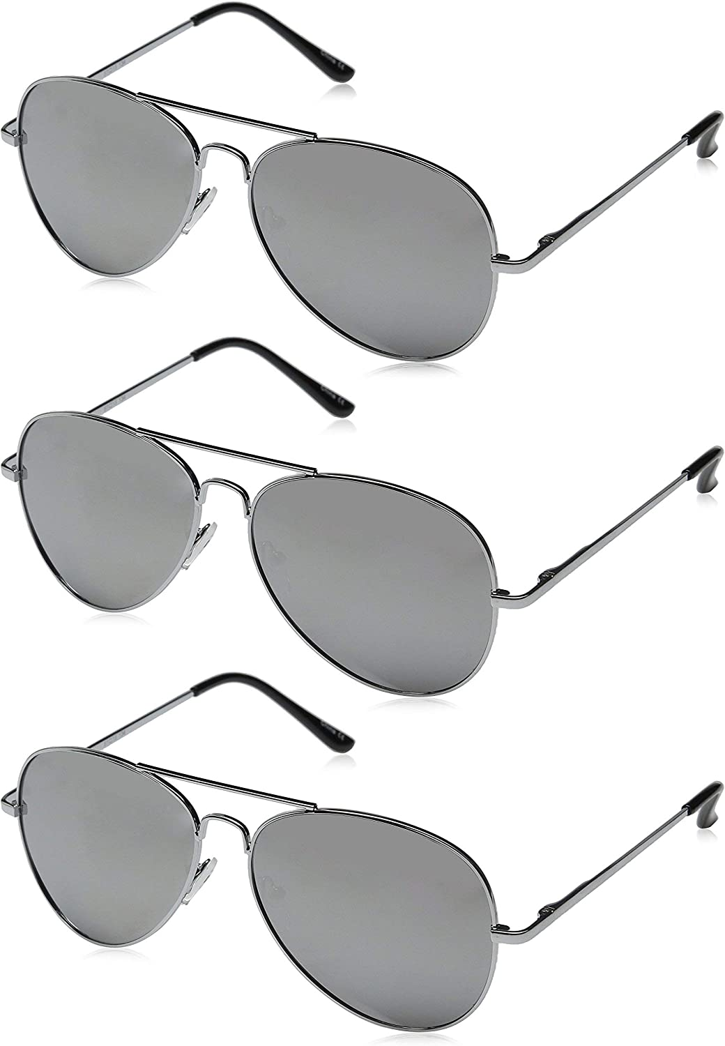 Premium Mirrored Aviator Top OFFicial Gun Loaded w Tem Special price for a limited time Sunglasses Spring
