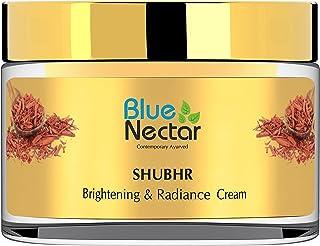 Blue Nectar Brightening Face Cream-Day & Night Ayurvedic Face Moisturizer with Sandalwood,Turmeric to Add Natural Skin Glo...