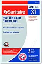 Electrolux Sanitaire 63213B10CT Style ST Disposable Vacuum Bags for SC600 & SC800 Series (Case of 50)