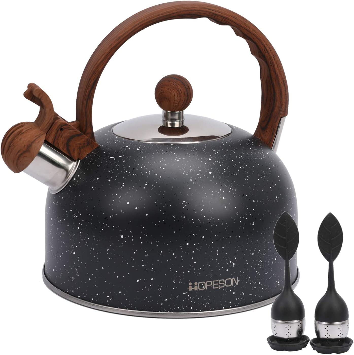 2.8 QT Whistling Teapot Stainless Ga for It is very popular Steel All items in the store Stovetops