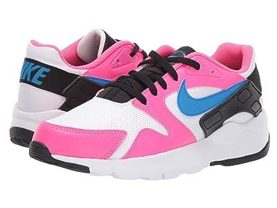 Nike Kids LD Victory (Big Kid) (White/Photo Blue/Black/Hyper Pink) Kids Shoes