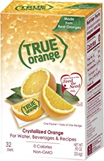 freeze dried orange juice