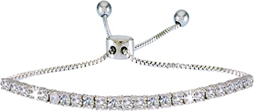 diamond bracelet on wrist