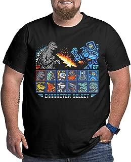 Kaiju Fighter Big Size Men's T-Shirt