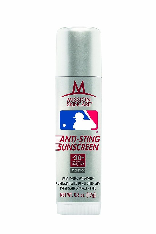 アーティキュレーション覆す経度MLBメジャーリーグnoスティング日焼け止めFacestick SPF 30?+、0.6-ounceスティック
